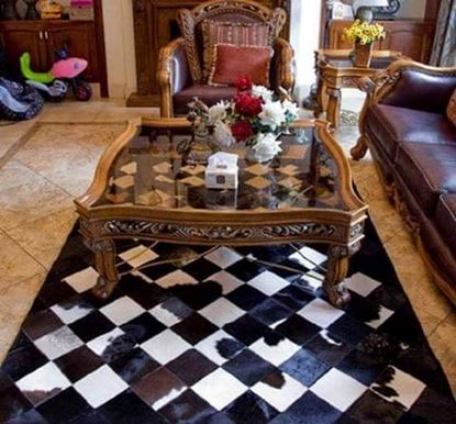 Picture of Leather Carpets  Manufactured in Egypt