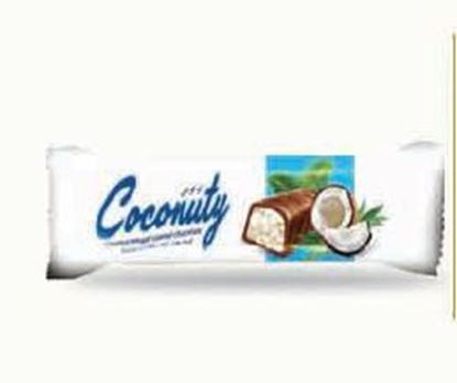 Picture of COV-B-1101 Coconuty - coconut nougat  coated chocolate