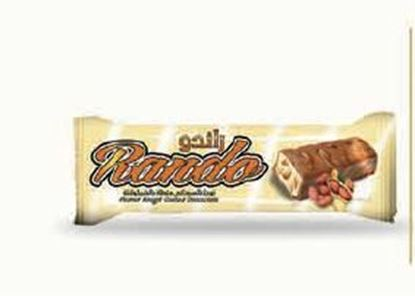 Picture of COV-B-1087 Rando  - Peanut nougat and crisp coated chocolate