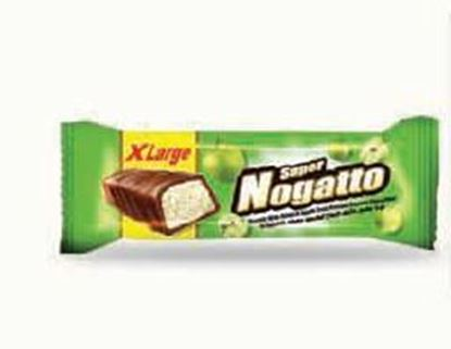 Picture of COV-B-1098 Nogatto - nougat with natural apple fruits  flavor coated chocolate