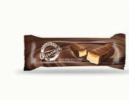 Bild von COV-B-1082 Caramelo - Kakaonougat mit Karamellgeschmack überzogener Schokolade