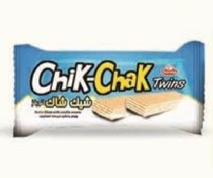 Picture of COV-W-1165- Chik-Chak Twins- wafer filled with vanilla cream