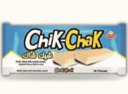 Picture of  COV-W-1167- Chik-Chak - wafer filled with vanilla cream