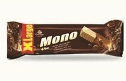 Picture of COV-W-1160- MONO - chocolate coated wafer filled with chocolate cream