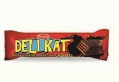 Picture of  COV-W-1162- Delikat  - chocolate coated wafer filled with chocolate cream