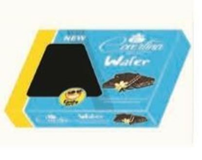 Picture of COV-W-143 - Wafer- Dark wafer filled with vanilla chocolate