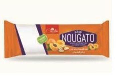 Picture of COV-NO-4001 - Nougato -  nouga with peanut and jelly apricot flavours