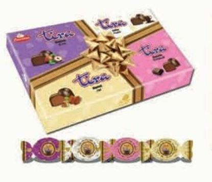 Picture of  COV-K-1565 Tira - Assortment milk chocolate filled with cream