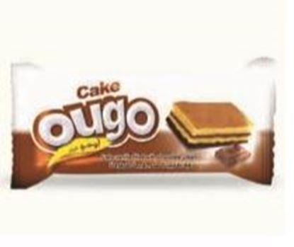 Bild von COV-C-1114- Ougotorte Vanille gefüllt mit Schokoladencreme