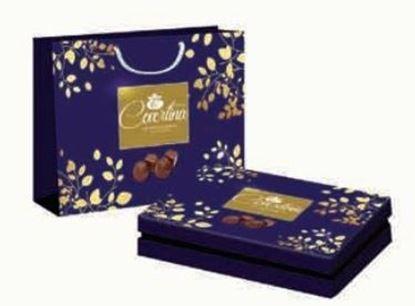 Picture of  COV-K-160 Covertina Gift Box - Assorted chocolate (white , Dark , Milk , Hazelnut )
