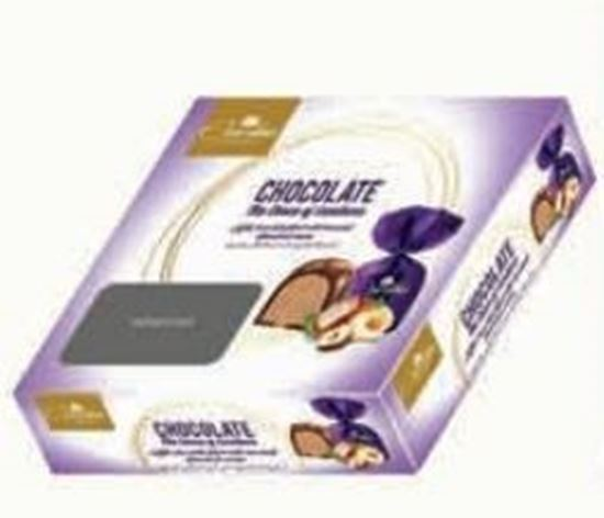 Picture of  COV-K-152 Covertina - Milk chocolate filled with Hazelnut flavoured cream